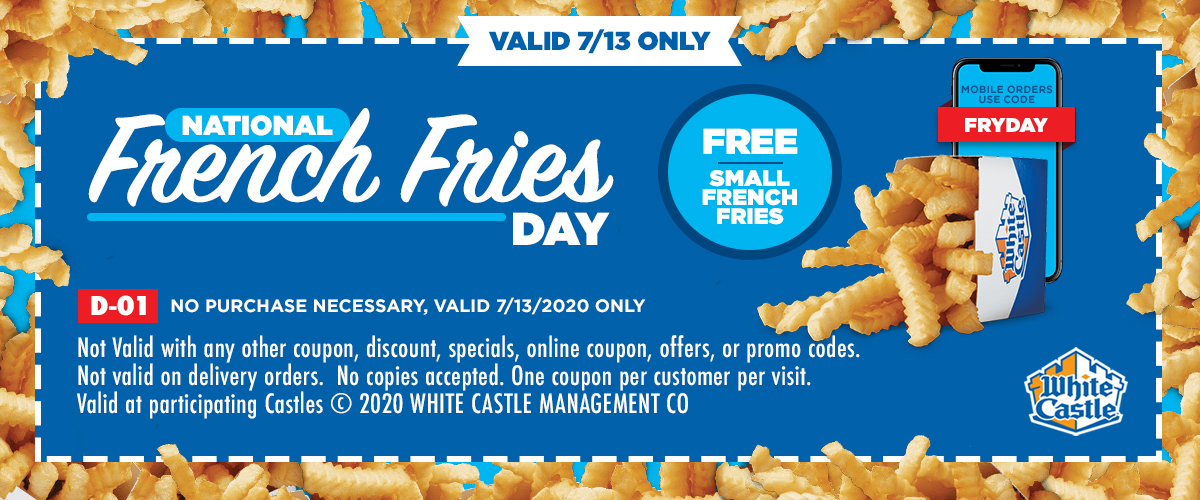Coupon for <p>National French Fries Day</p> - undefined