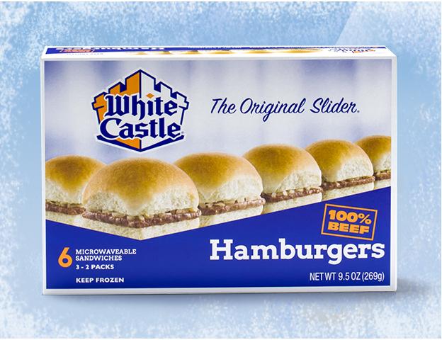 White Castle hamburgers fast food restaurant sign